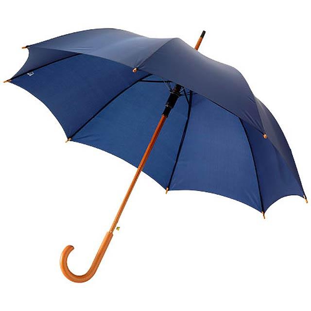 """23"""" deštník Kyle s automatickým otvíráním a dřevěnou tyčí a  - modrá"""