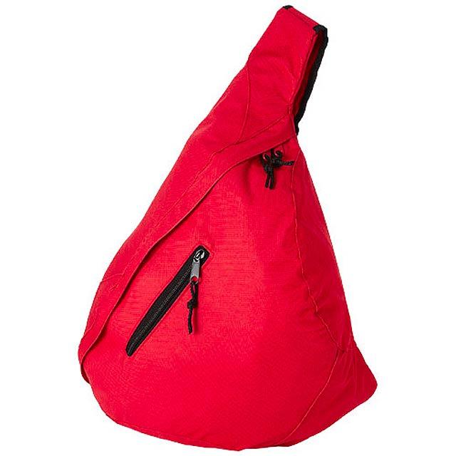 Městský trojúhelníkový batoh Brooklyn - červená