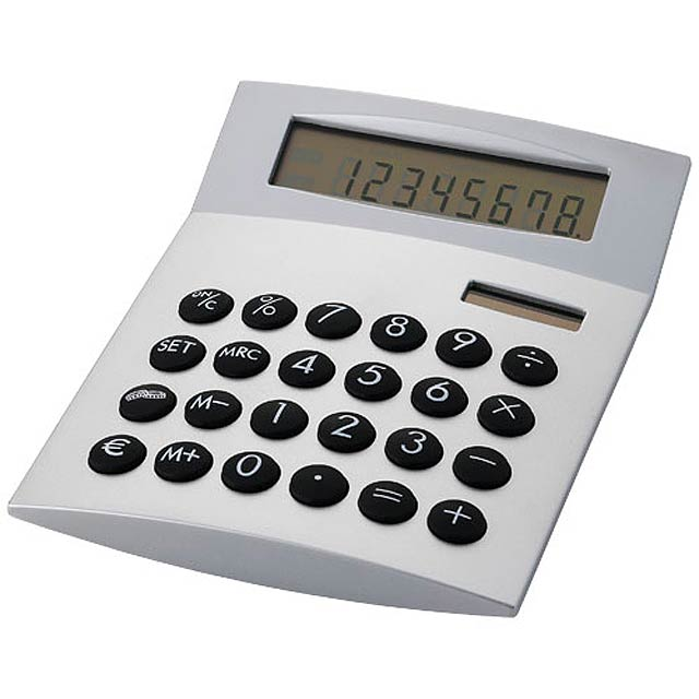 Desktop calculator - silver