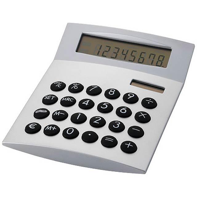 Stolná kalkulačka - strieborná