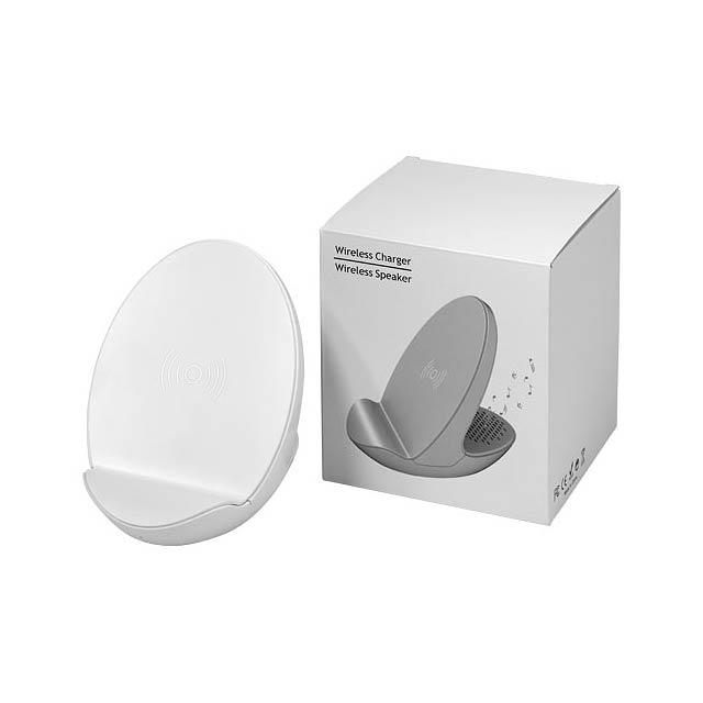S10 Bluetooth® 3-funkční reproduktor - bílá