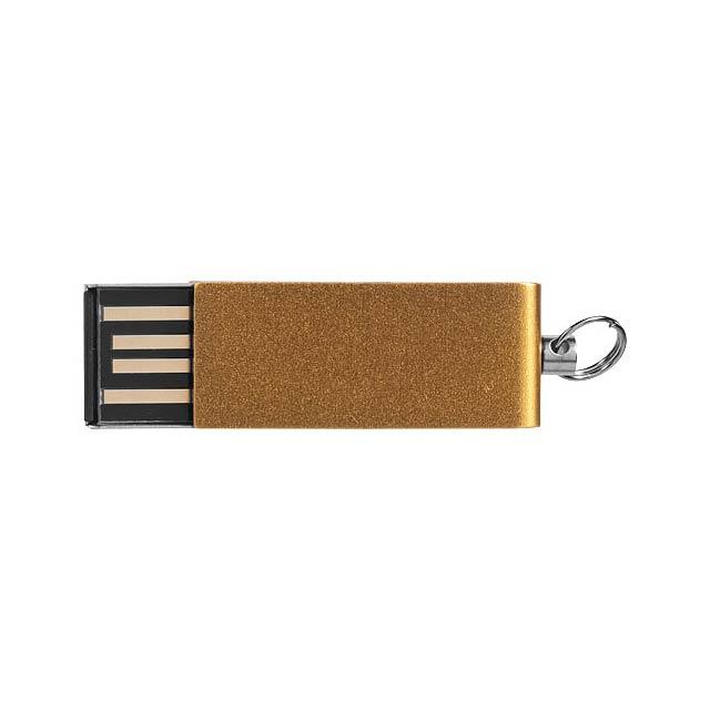 Mini Rotate USB - zlatá