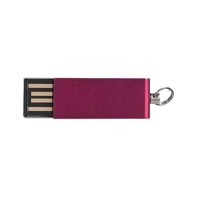 Mini Rotate USB - transparentní červená