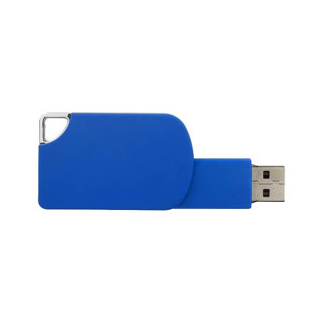 Otočný Square USB - modrá