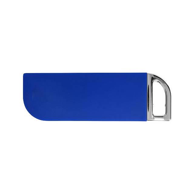 Otočné obdélníkové USB - modrá