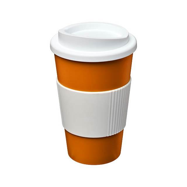 Termo hrnek s rukojetí Americano® 350 ml - oranžová