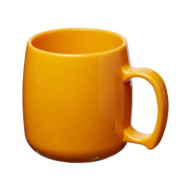 Plastový hrnek Classic 300 ml - oranžová