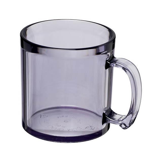 Plastový hrnek Standard 300 ml - transparentní