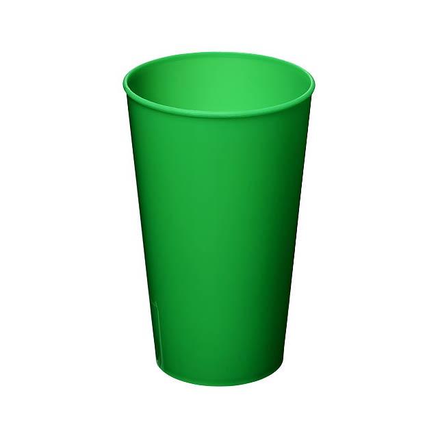 Plastový kelímek Arena 375 ml - zelená