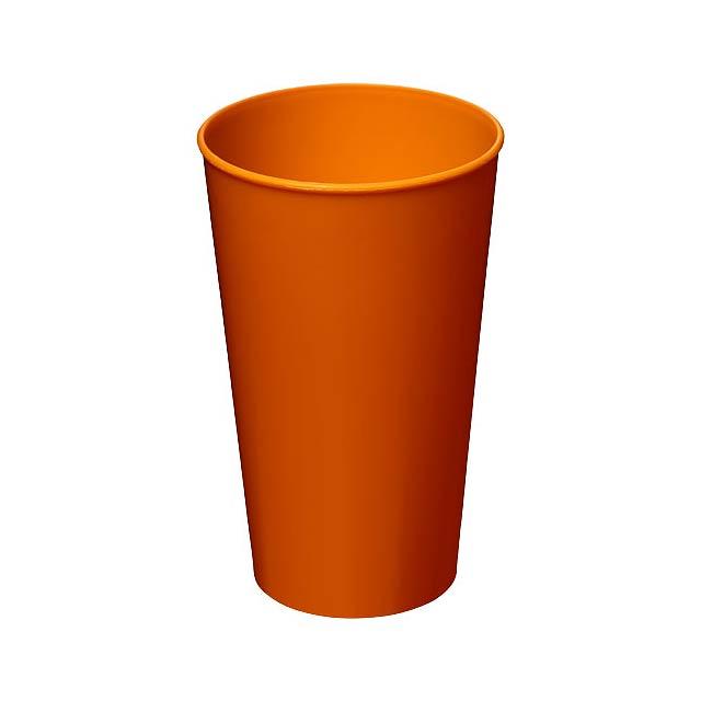 Plastový kelímek Arena 375 ml - oranžová