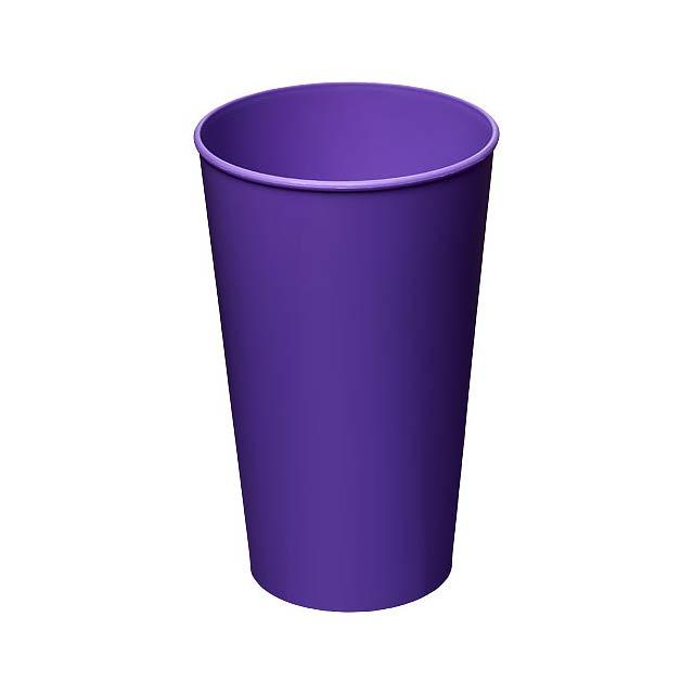 Plastový kelímek Arena 375 ml - fialová