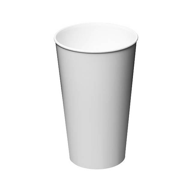 Plastový kelímek Arena 375 ml - bílá