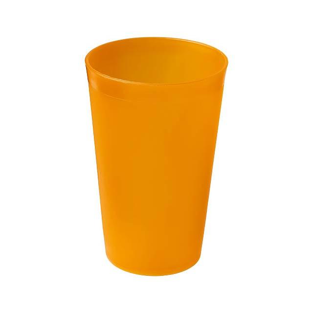 Plastový kelímek Drench 300 ml - oranžová