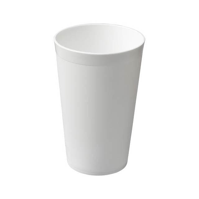 Plastový kelímek Drench 300 ml - bílá