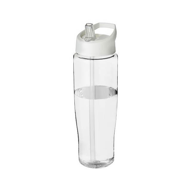 Sportovní láhev s víčkem s hubičkou H2O Tempo® 700 ml - transparentní