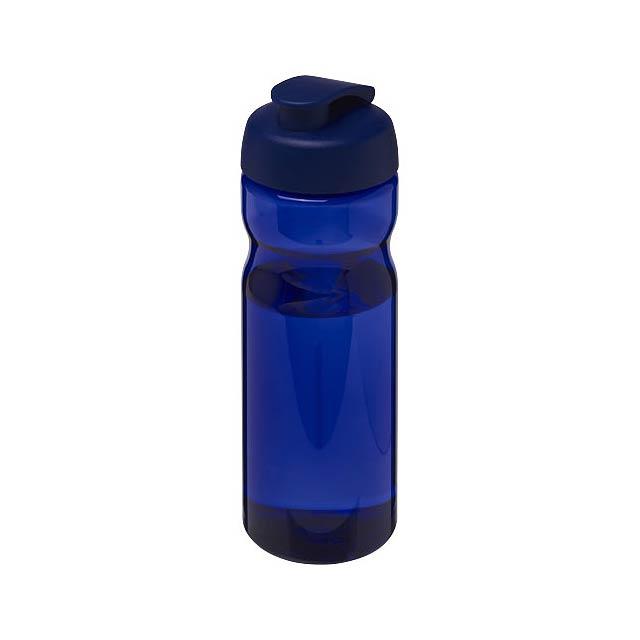Sportovní láhev s vyklápěcím víčkem H2O Base® 650 ml - modrá