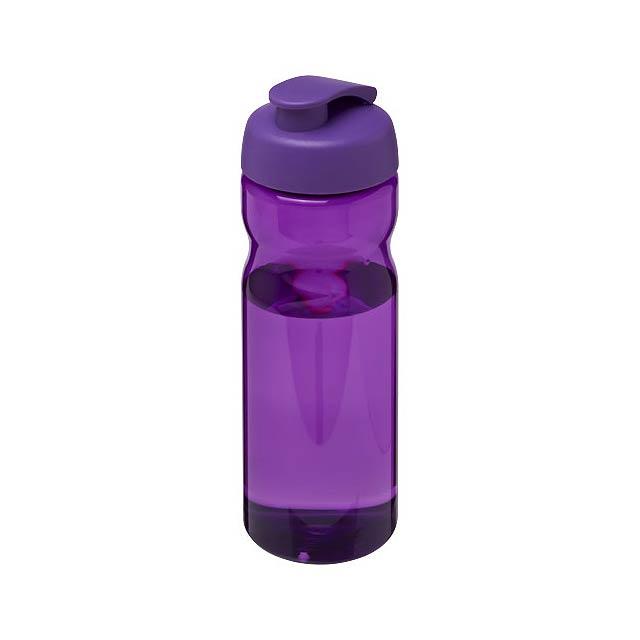 Sportovní láhev s vyklápěcím víčkem H2O Base® 650 ml - fialová