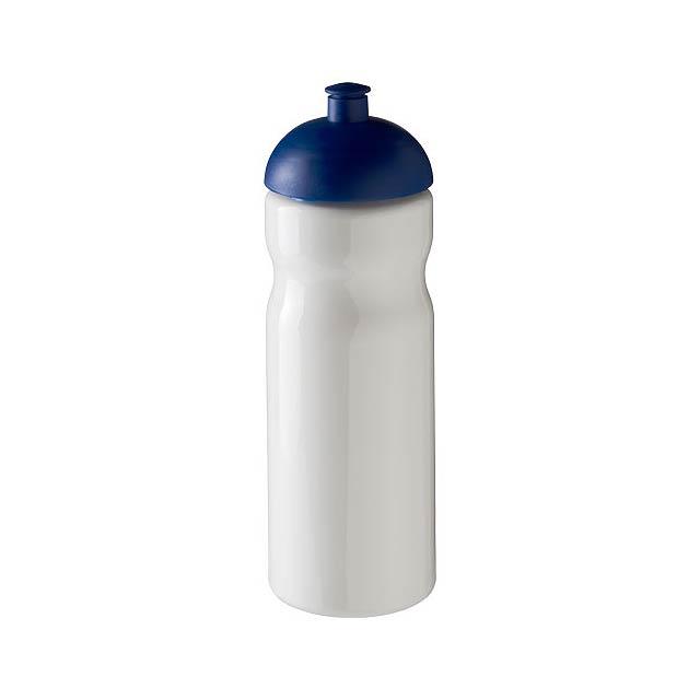 Sportovní láhev s kupolovitým víčkem H2O Base® 650 ml - bílá