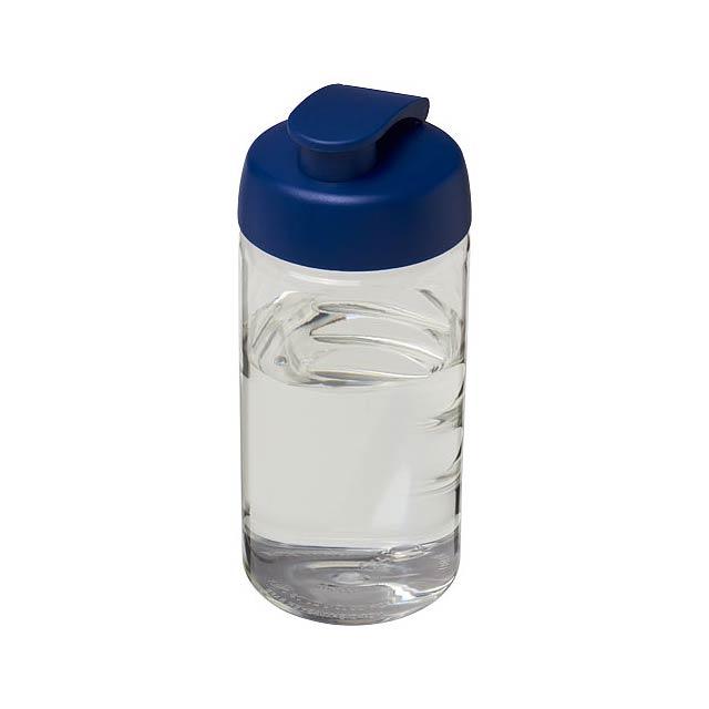 Sportovní láhev s vyklápěcím víčkem H2O Bop® 500 ml - transparentní
