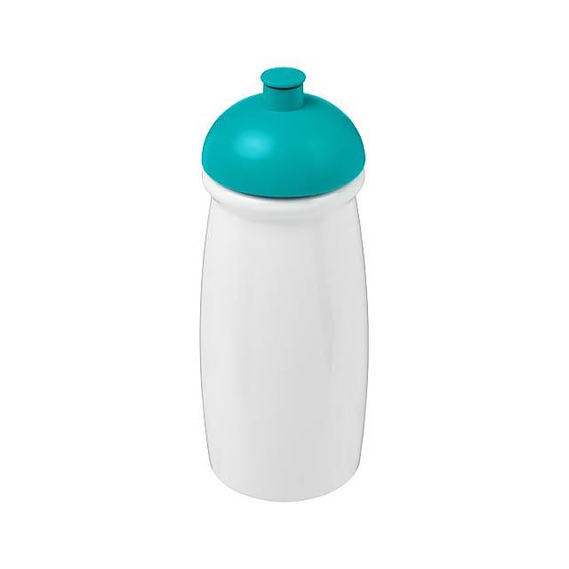 Sportovní láhev s kupolovitým víčkem H2O Pulse® 600 ml - bílá
