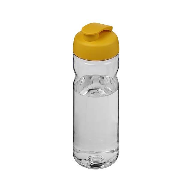 Sportovní láhev s vyklápěcím víčkem Base Tritan™ 650 ml - transparentní