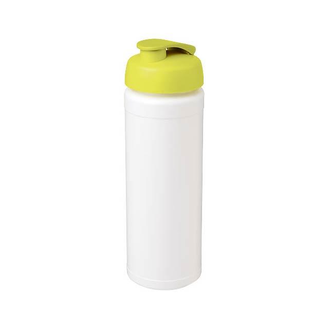 Sportovní láhev s vyklápěcím víčkem Baseline® Plus grip 750  - bílá