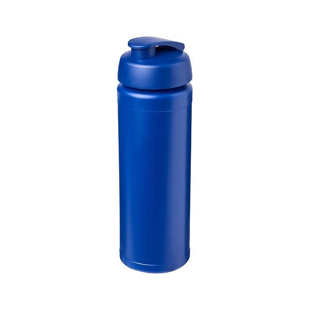 Sportovní láhev s vyklápěcím víčkem Baseline® Plus grip 750  - modrá