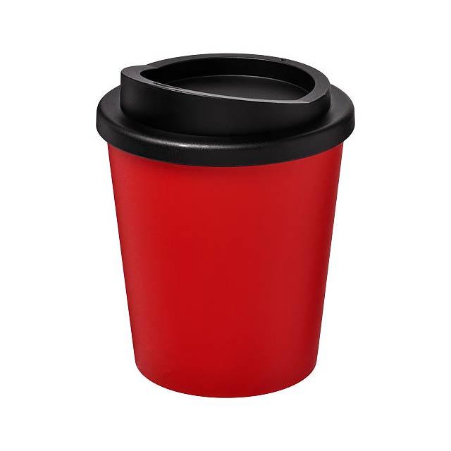 Termo hrnek Americano® Espresso 250 ml - transparentní červená
