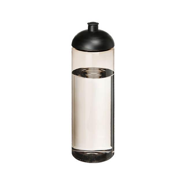 H2O Vibe 850 ml sportovní lahev s kupolovitým víčkem - černá