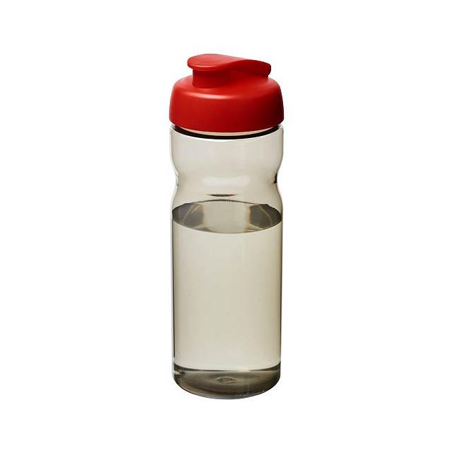 Sportovní láhev s vyklápěcím víčkem H2O Eco 650 ml - černá