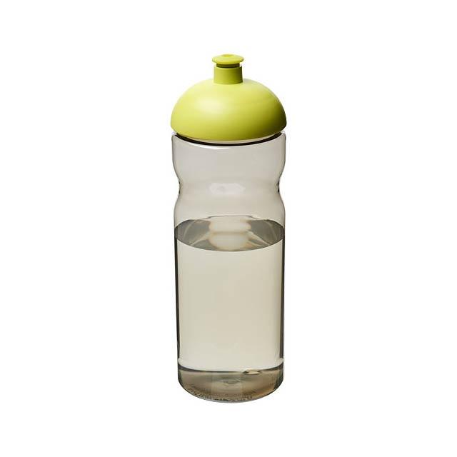 Sportovní láhev s kupolovitým víčkem H2O Eco 650 ml - černá