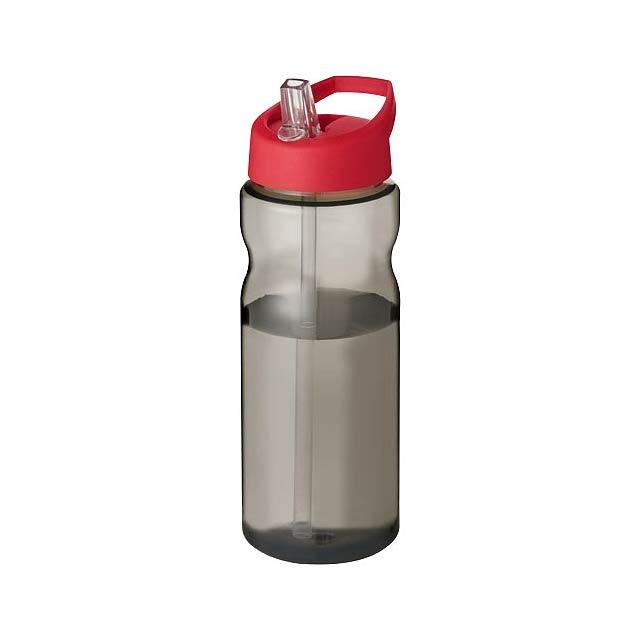 Sportovní láhev s víčkem s hubičkou H2O Eco 650 ml - černá