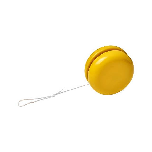 Plastové jojo Garo - žlutá