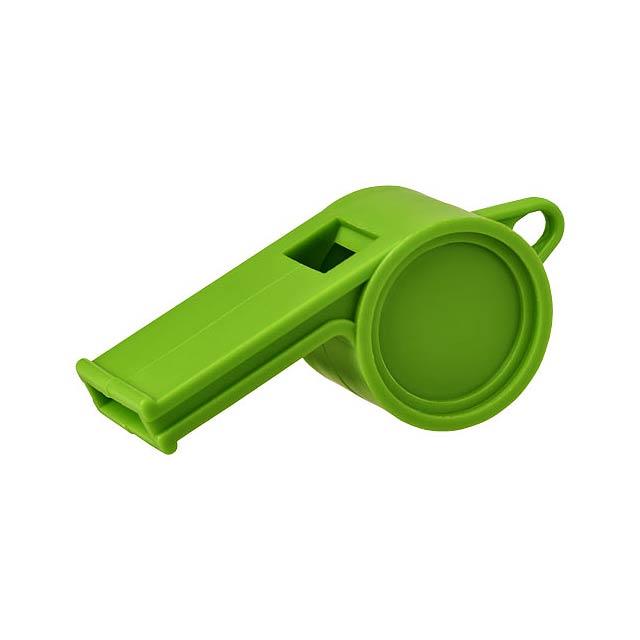 Tradiční píšťalka rozhodčího Hoot - zelená