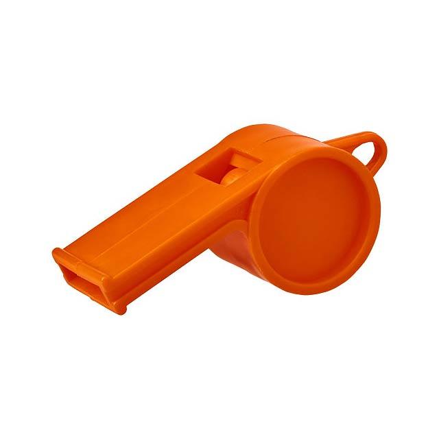 Tradiční píšťalka rozhodčího Hoot - oranžová