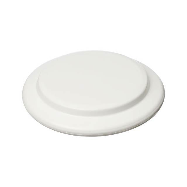 Malé plastové frisbee Cruz - bílá