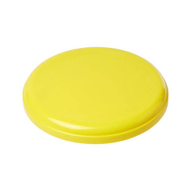Střední plastové frisbee Cruz - žlutá