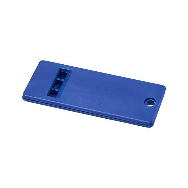 Plochá píšťalka Wanda s velkým povrchem pro vaši značku - modrá