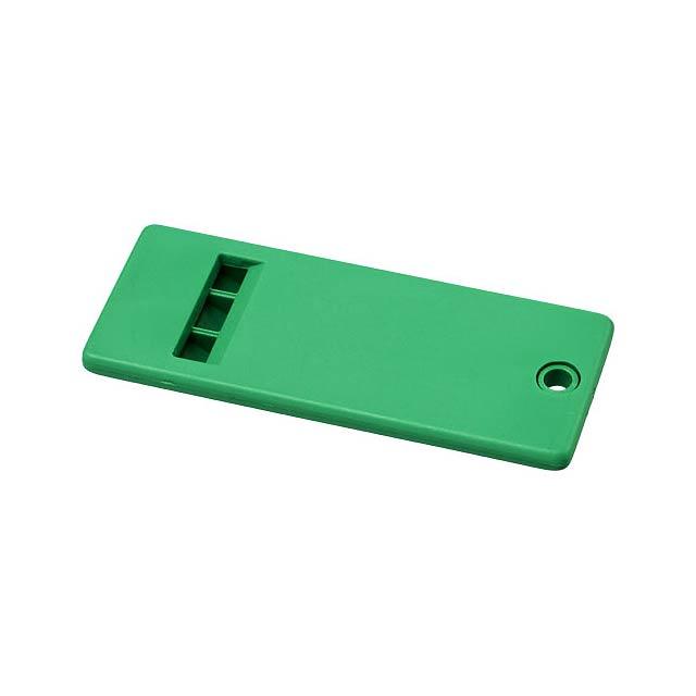 Plochá píšťalka Wanda s velkým povrchem pro vaši značku - zelená