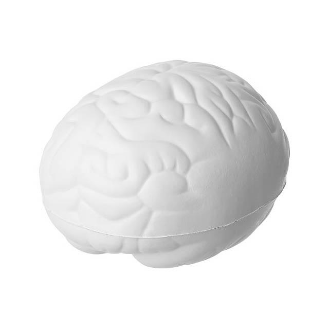 Antistresová pomůcka mozek Barrie - bílá