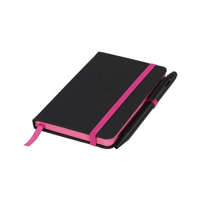 Zápisník Small noir edge - černá