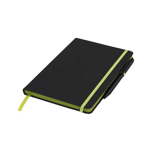 Zápisník Medium noir edge - černá