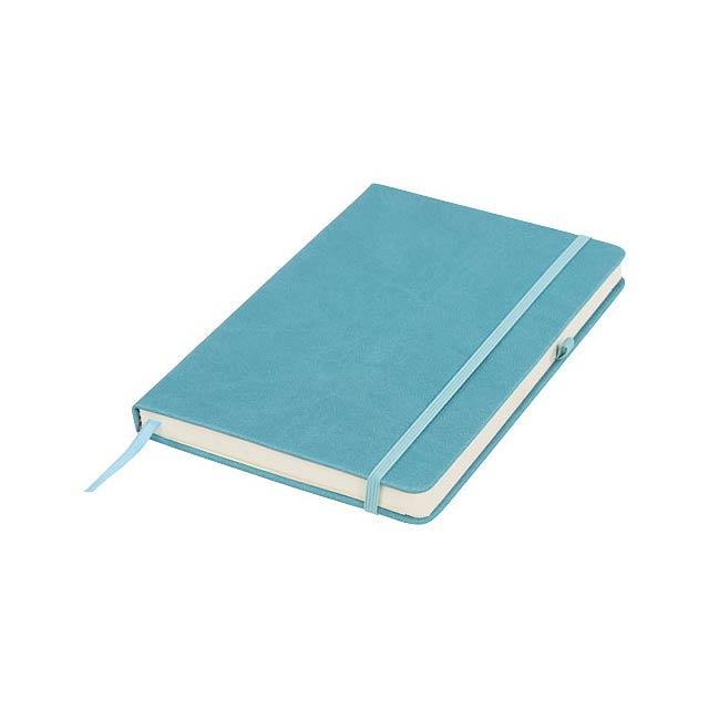 Středně velký zápisník Rivista - nebesky modrá