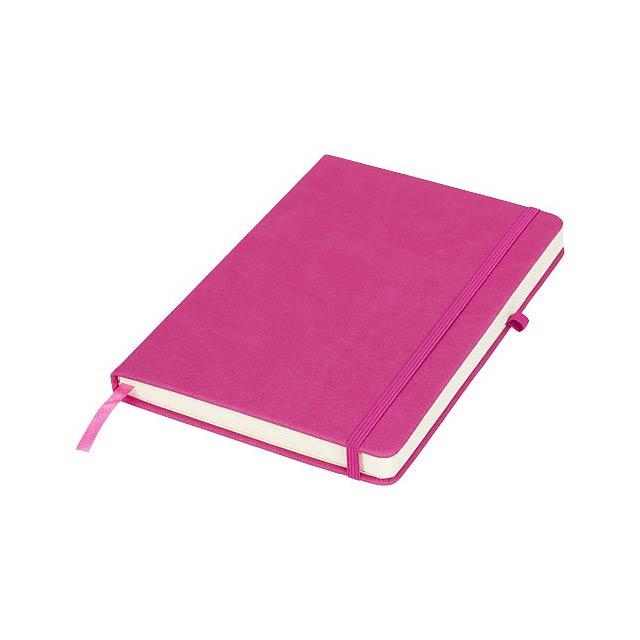 Středně velký zápisník Rivista - fuchsiová (tm. růžová)