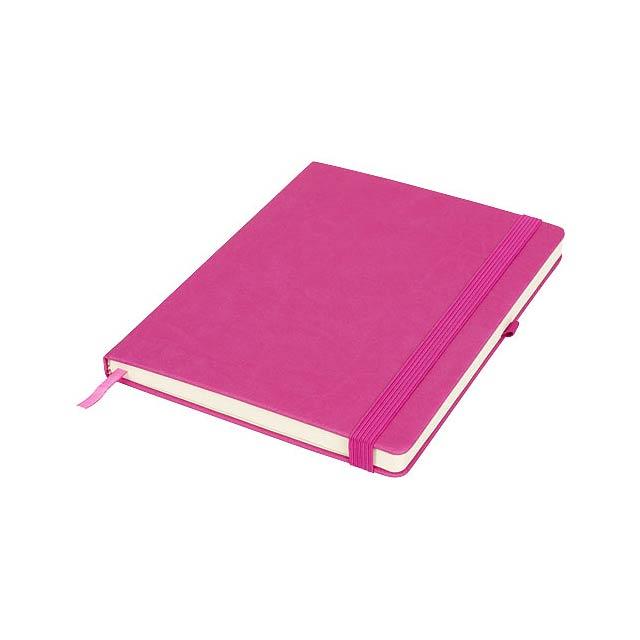 Velký zápisník Rivista - fuchsiová (tm. růžová)