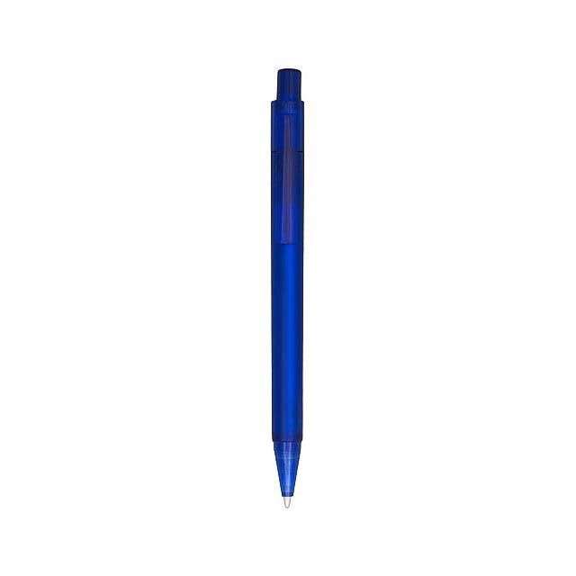 Kuličkové pero Calypso s efektem námrazy - modrá