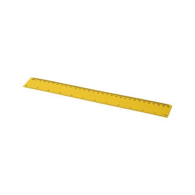Pravítko Rothko 30 cm PP - žlutá