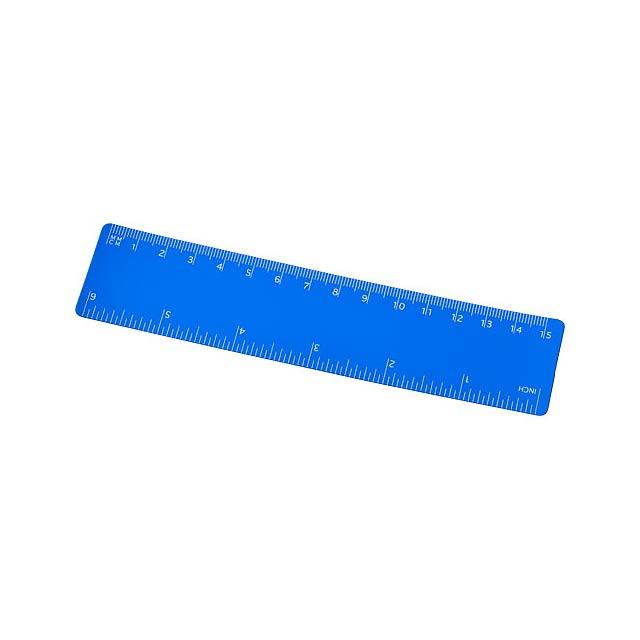 Pravítko Rothko 15 cm PP - modrá