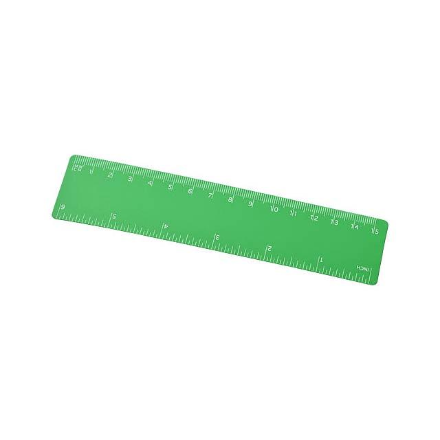 Pravítko Rothko 15 cm PP - zelená