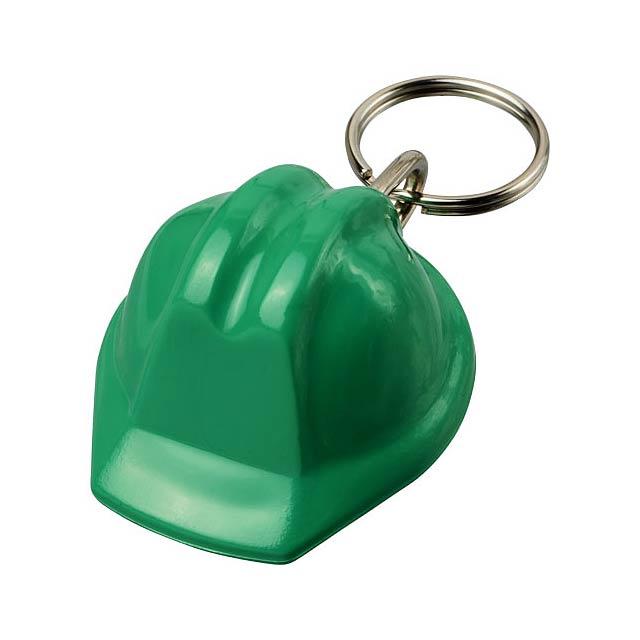 Klíčenka Kolt ve tvaru přilby - zelená